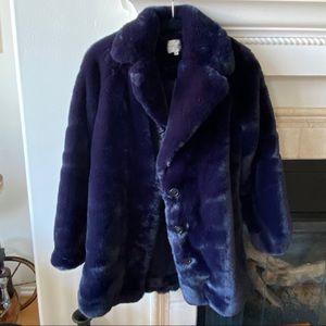 Sezane faux fur coat